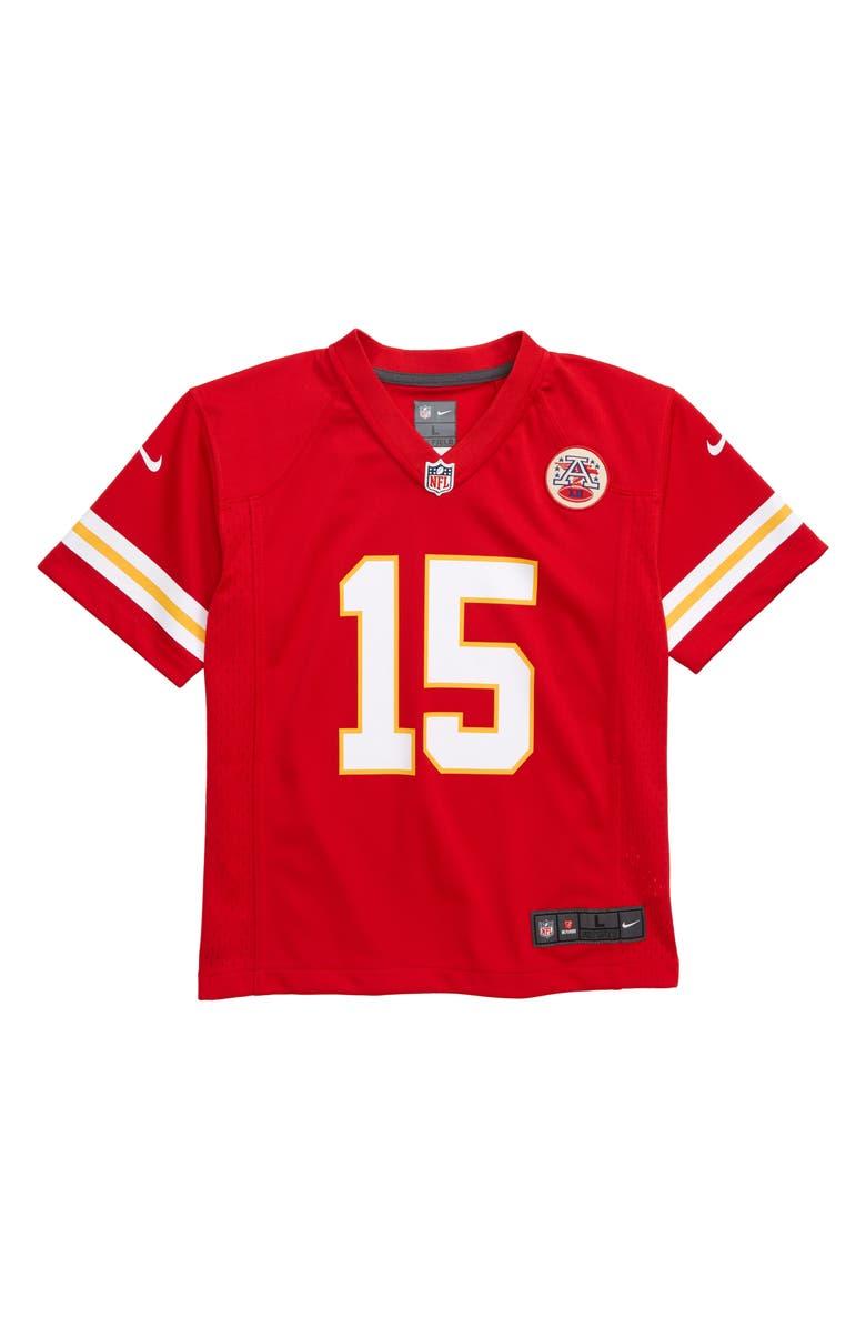 hot sale online b14da 8c03f Nike NFL Logo Kansas City Chiefs Patrick Mahomes Jersey ...