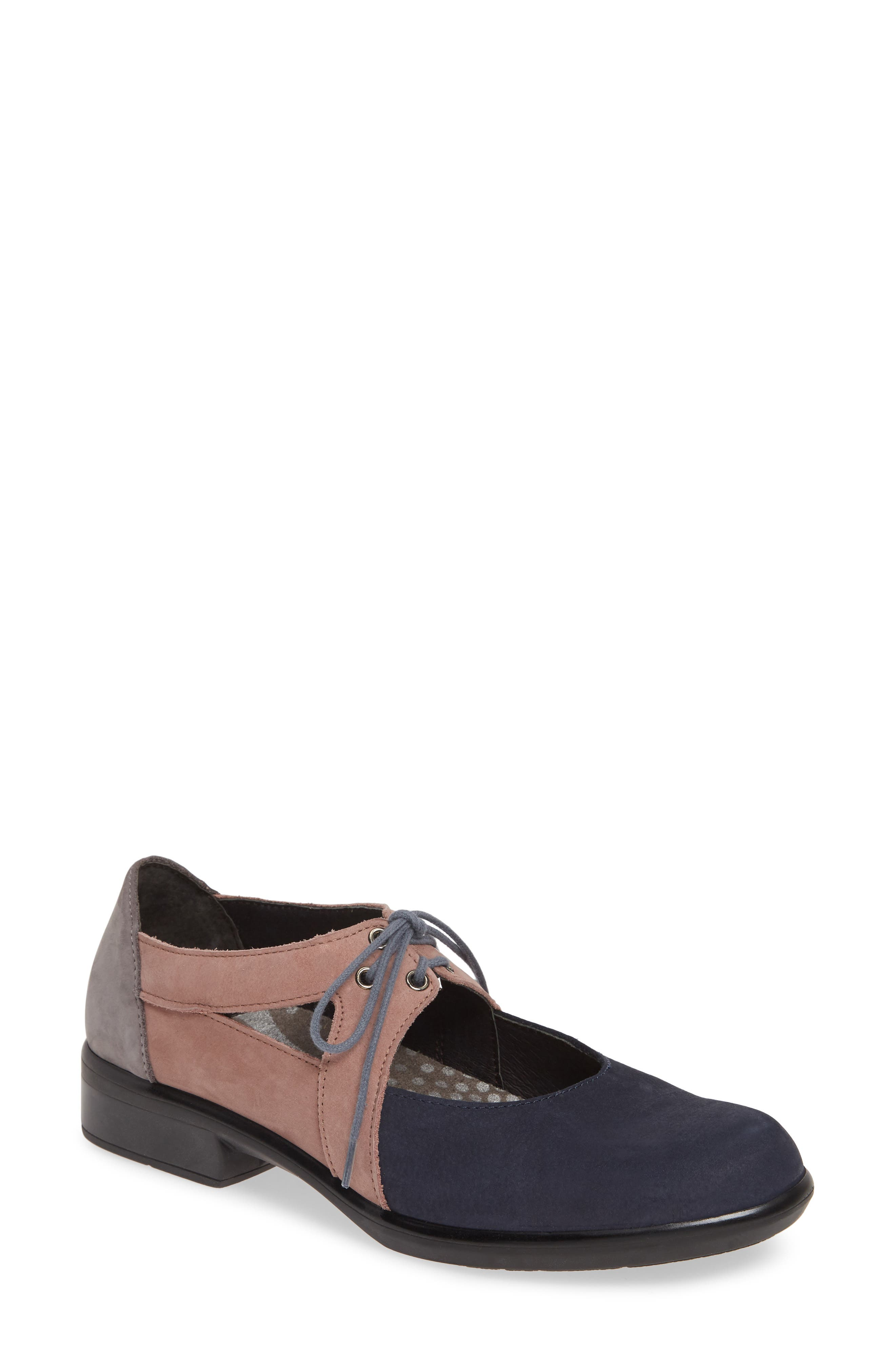 Naot Alisio Lace-Up Shoe, Blue