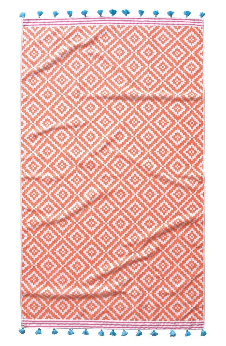 JOHN ROBSHAW 'Alabat' Beach Towel, Main, color, 950
