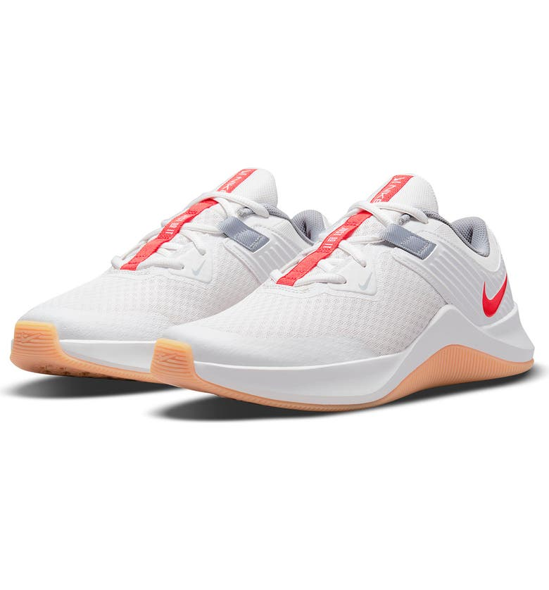 NIKE MC Trainer Sneaker, Main, color, PLATINUM TINT/ CHILE RED