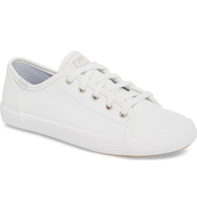 KEDS<SUP>®</SUP> Kickstart Sneaker, Main, color, WHITE
