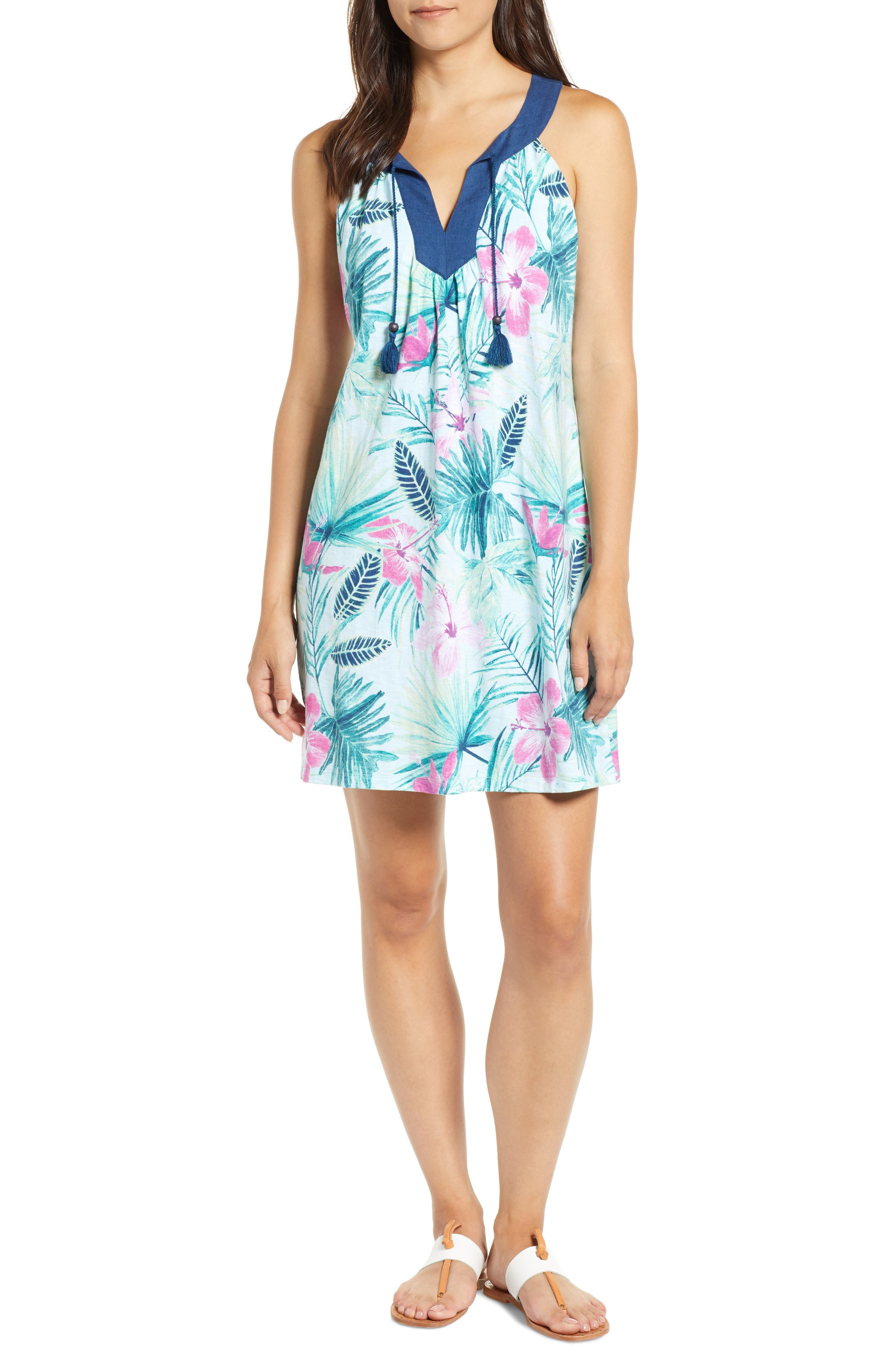 Tommy Bahama Kayo Blossoms Sundress, Blue