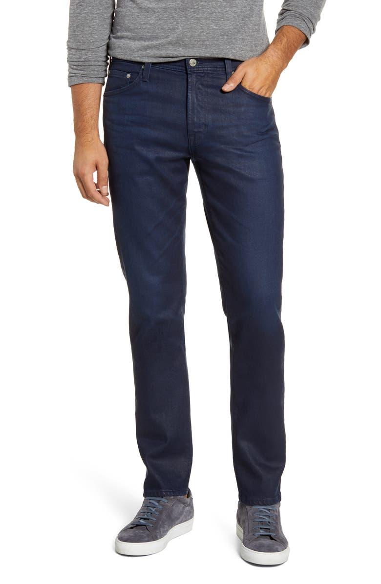 AG Everett Slim Straight Leg Jeans, Main, color, 3 YEARS LEVER