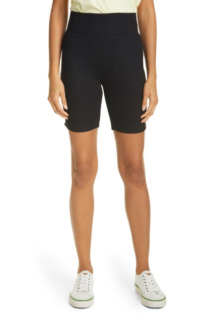 Rag & Bone RIBBED BIKE SHORTS