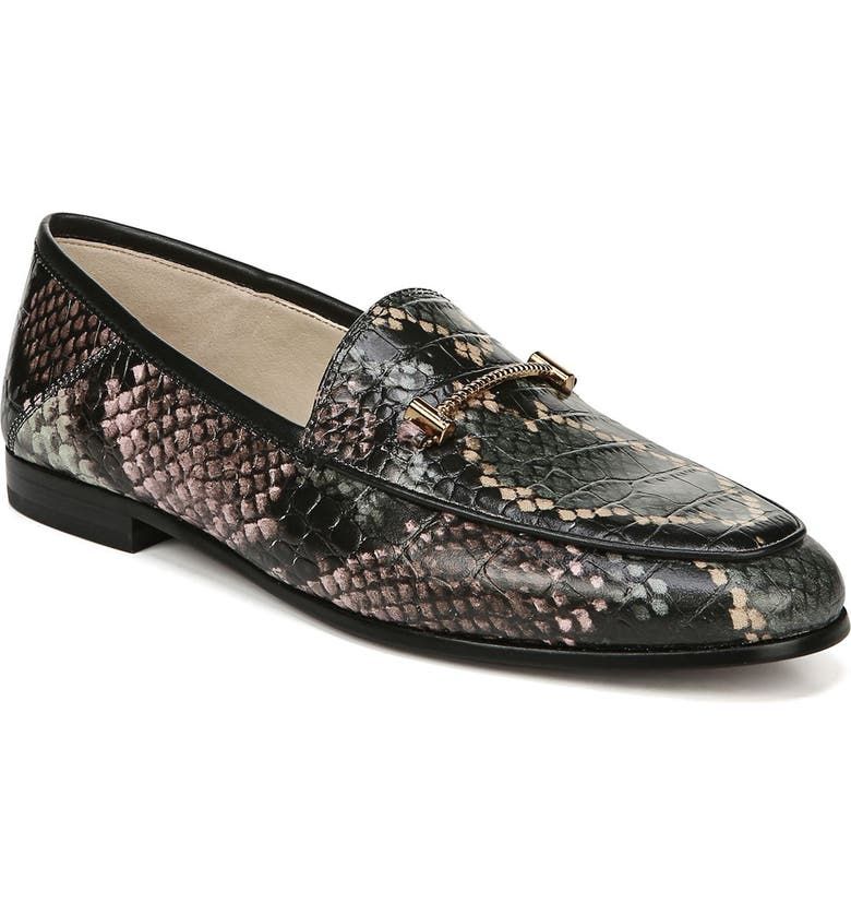 SAM EDELMAN Lior Loafer, Main, color, WINTERGREEN MULTI LEATHER