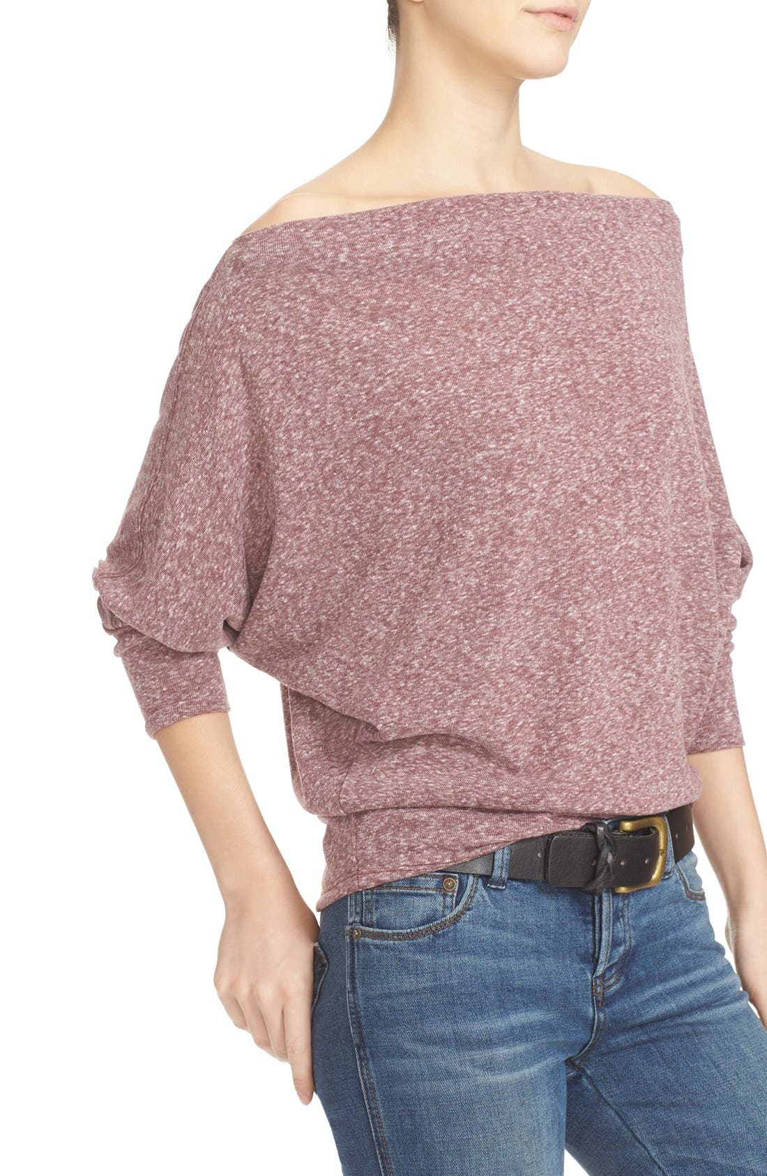 ,                             Valencia Off the Shoulder Pullover,                             Alternate thumbnail 42, color,                             506