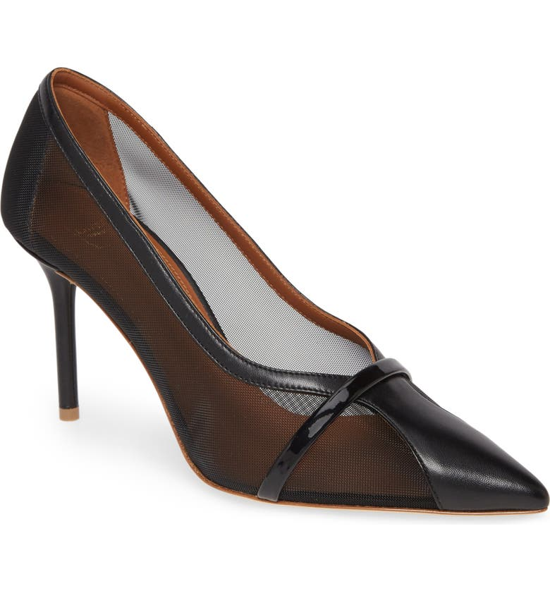 MALONE SOULIERS Brock Pump, Main, color, BLACK