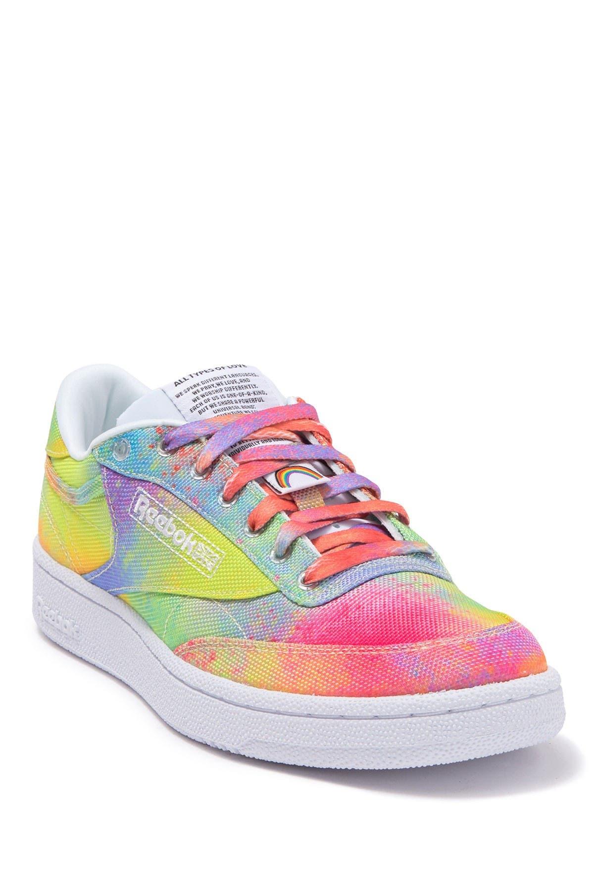 Image of Reebok Club C 85 Pride Sneaker