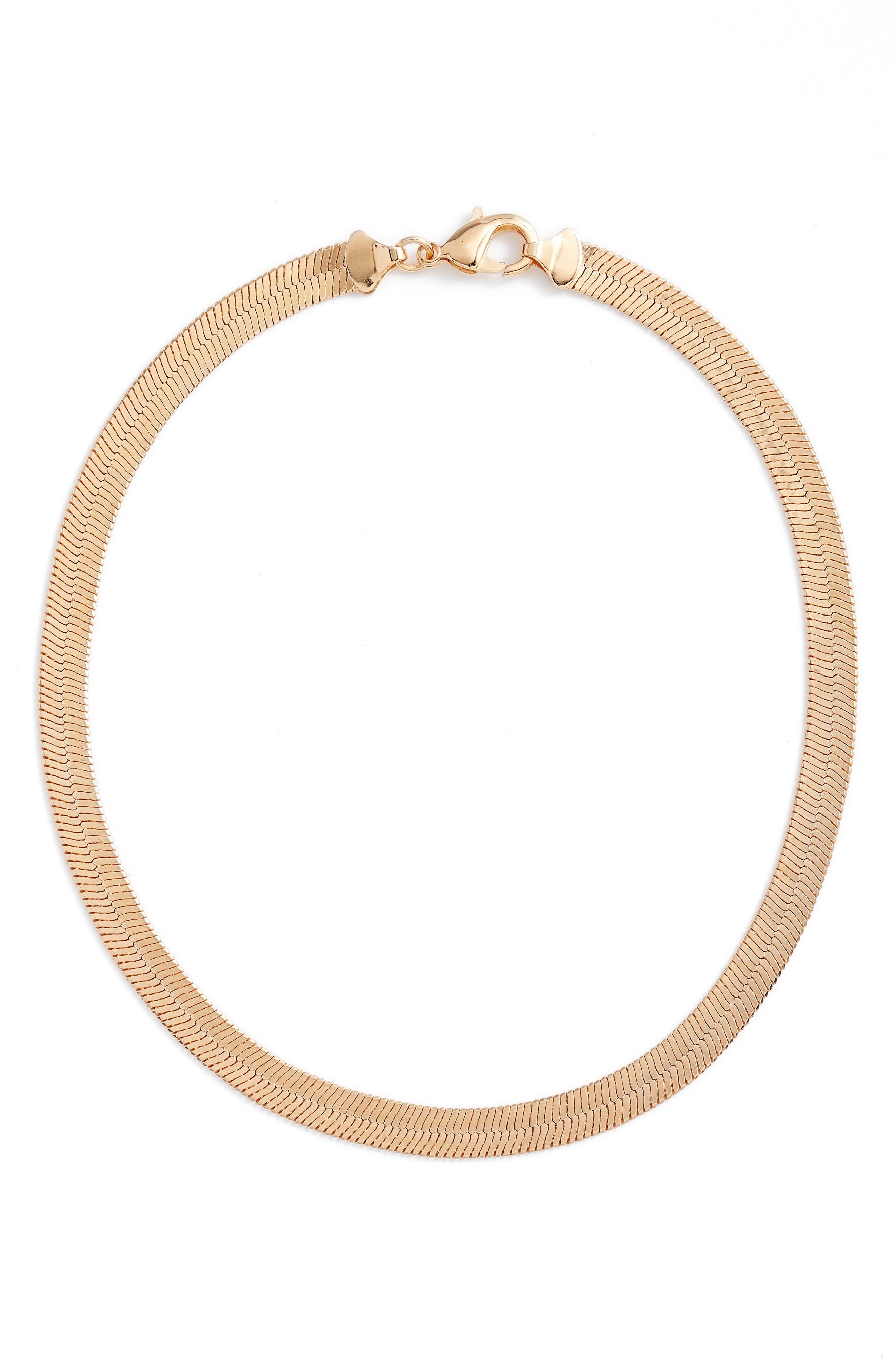 Thick Monte Carlo Chain Necklace