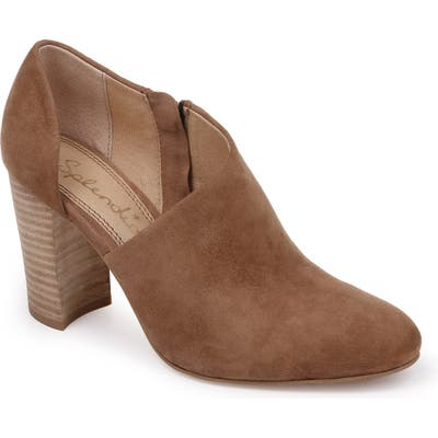 Splendid Hibiscus Bootie- Brown