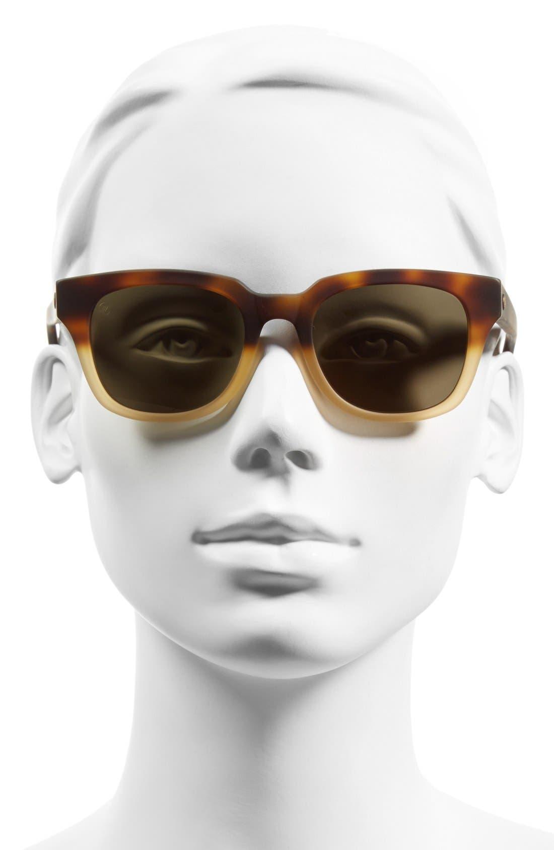 ,                             '40FIVE' 50mm Retro Sunglasses,                             Alternate thumbnail 8, color,                             201