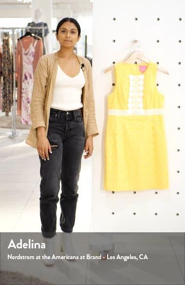 Railee Eyelet Shift Dress, sales video thumbnail