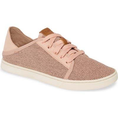 Olukai Pehuea Li Convertible Sneaker- Pink