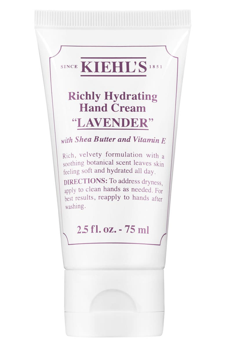 Kiehls Since 1851 Lavender Richly Hydrating Scented Hand Cream