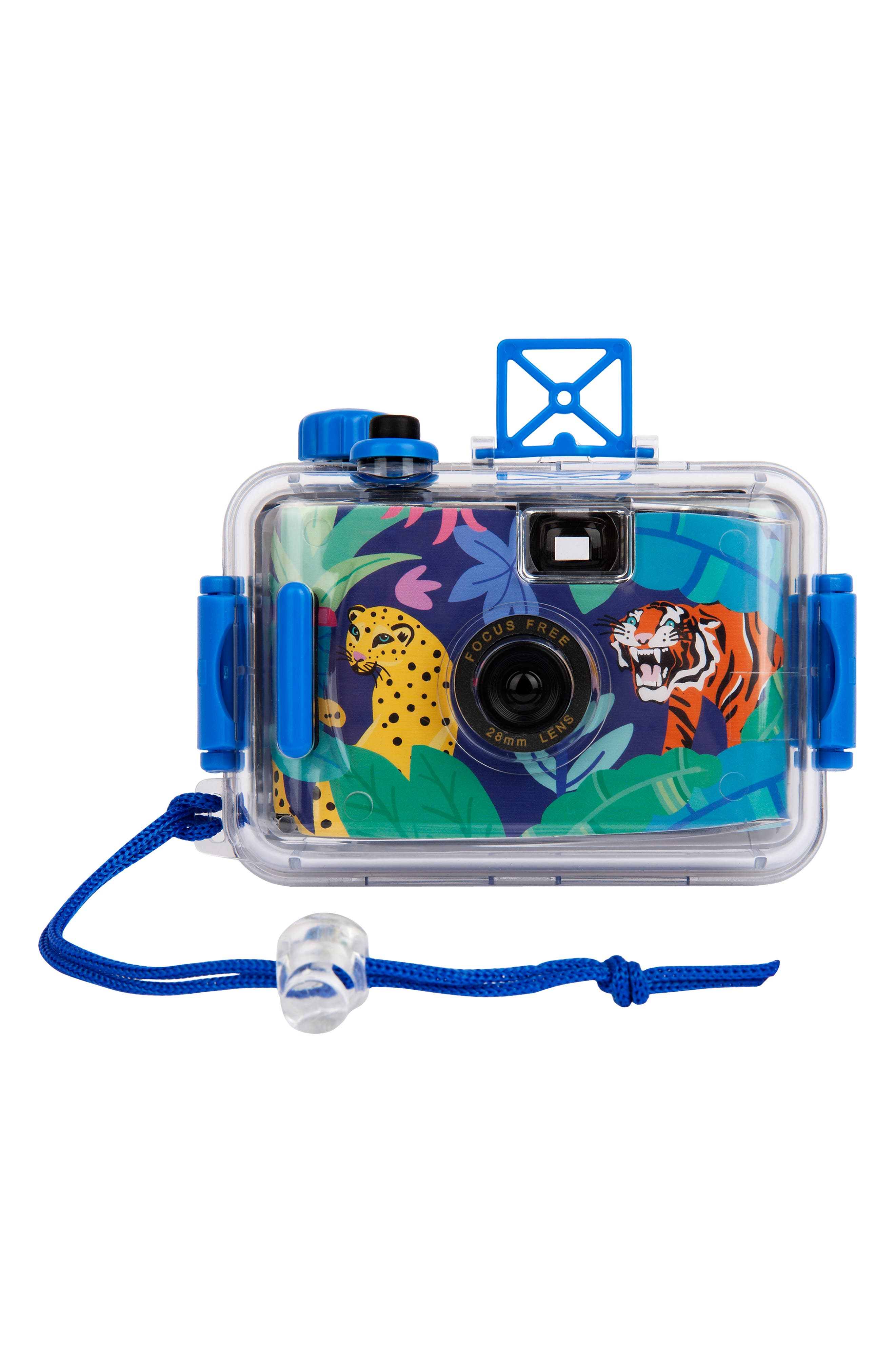 Don\\\'t miss a single happy snap underwater with this 35mm film camera featuring easy focus-free operation and a detachable waterproof casing. Style Name: Sunnylife Jungle Underwater Camera. Style Number: 6018563. Available in stores.