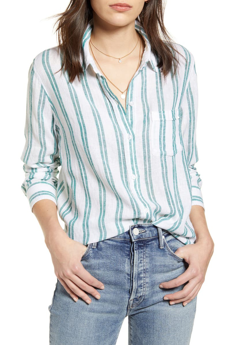 RAILS Charli Shirt, Main, color, CORDOBA STRIPE