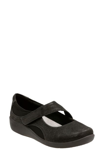 Image of Clarks Sillian Bella Mary Jane Flat - Multiple Widths Available