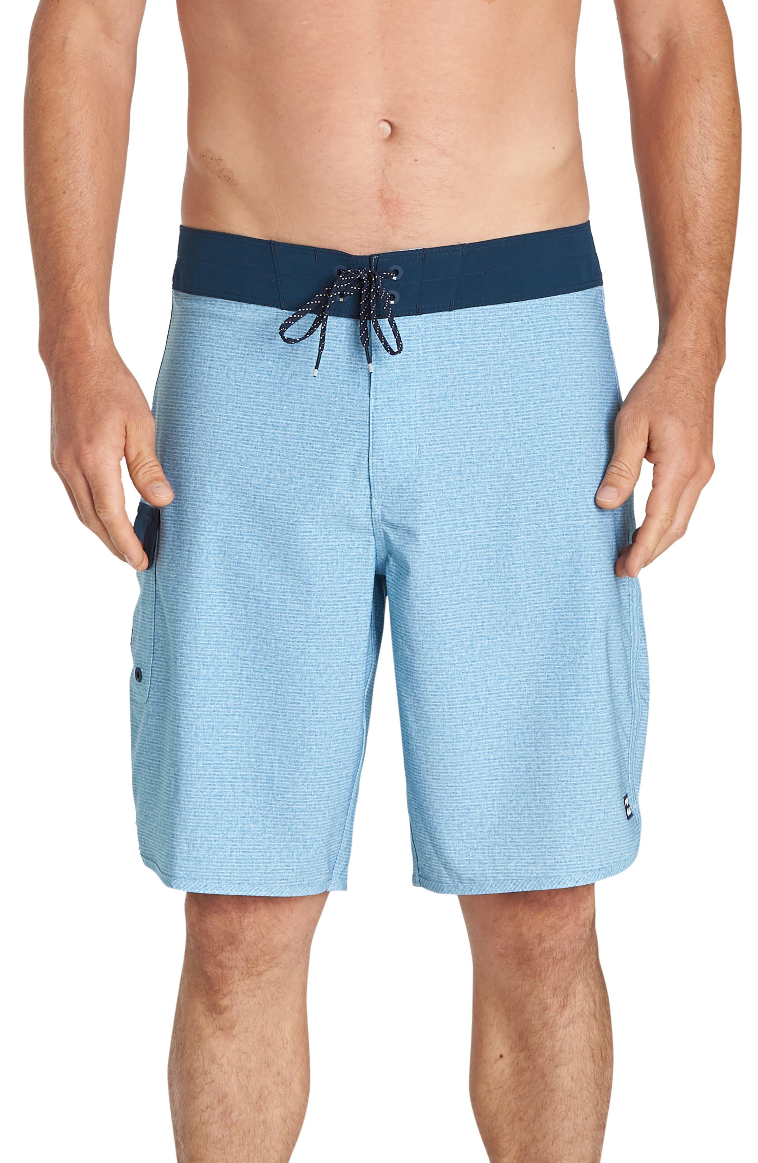 Billabong 73 Pro Board Shorts, Blue