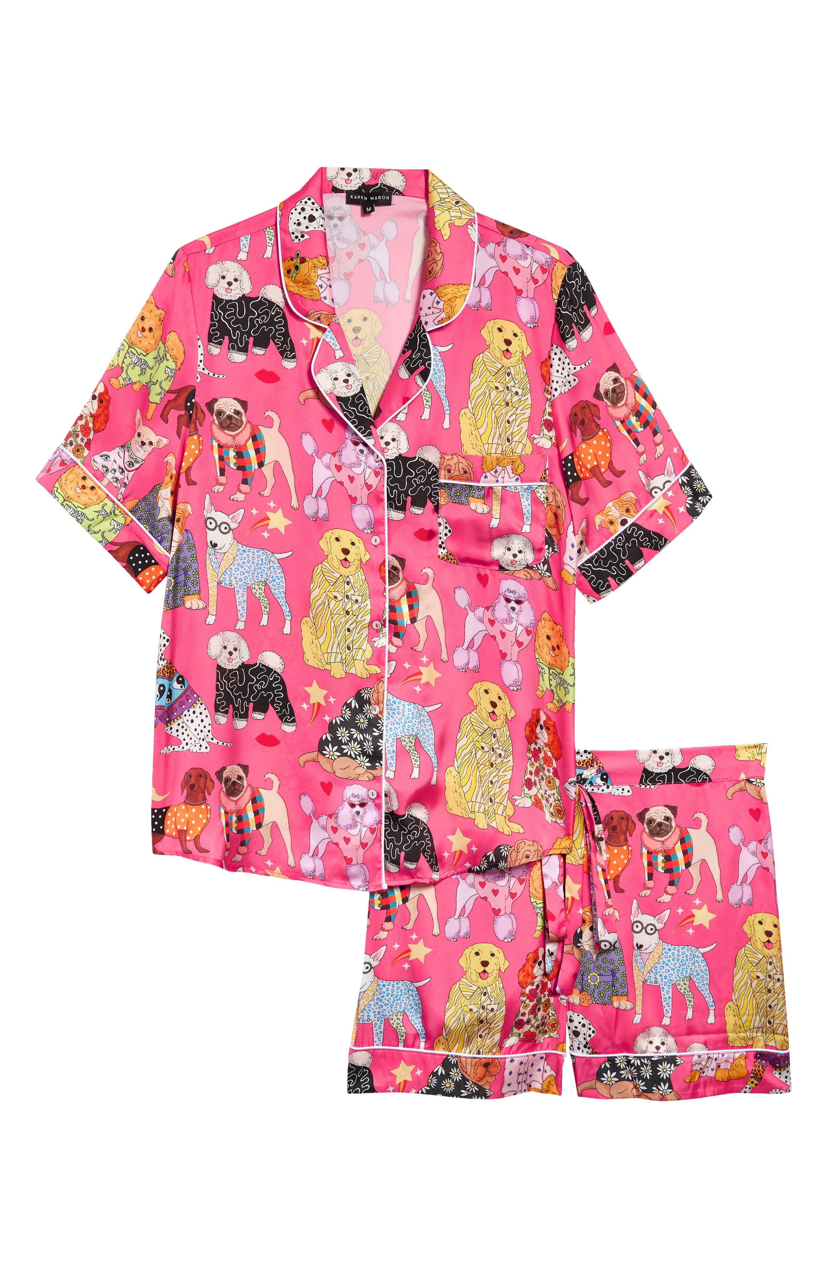 Fashion Dog Short Pajamas