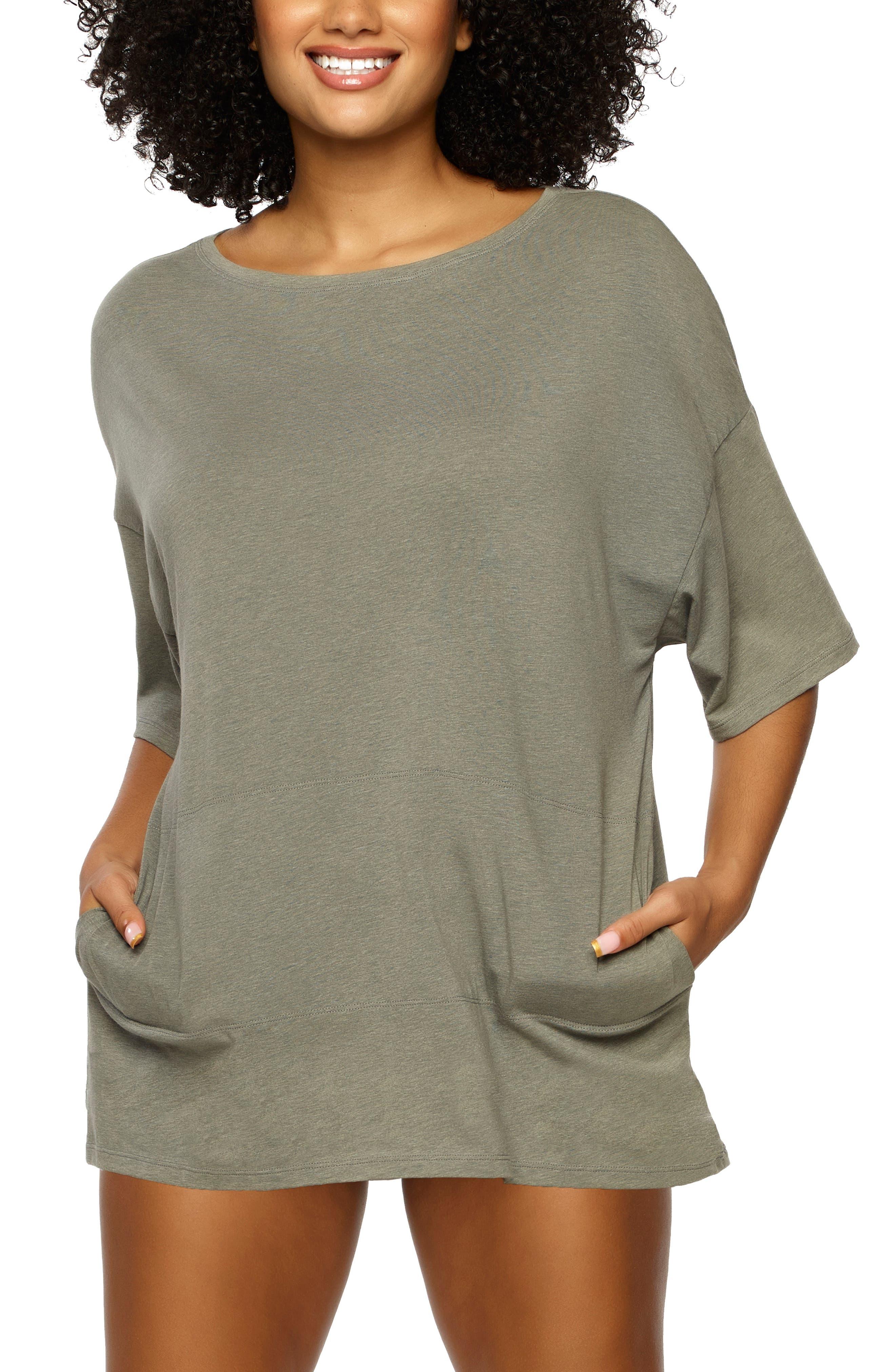 Oversize Stretch Organic Cotton T-Shirt