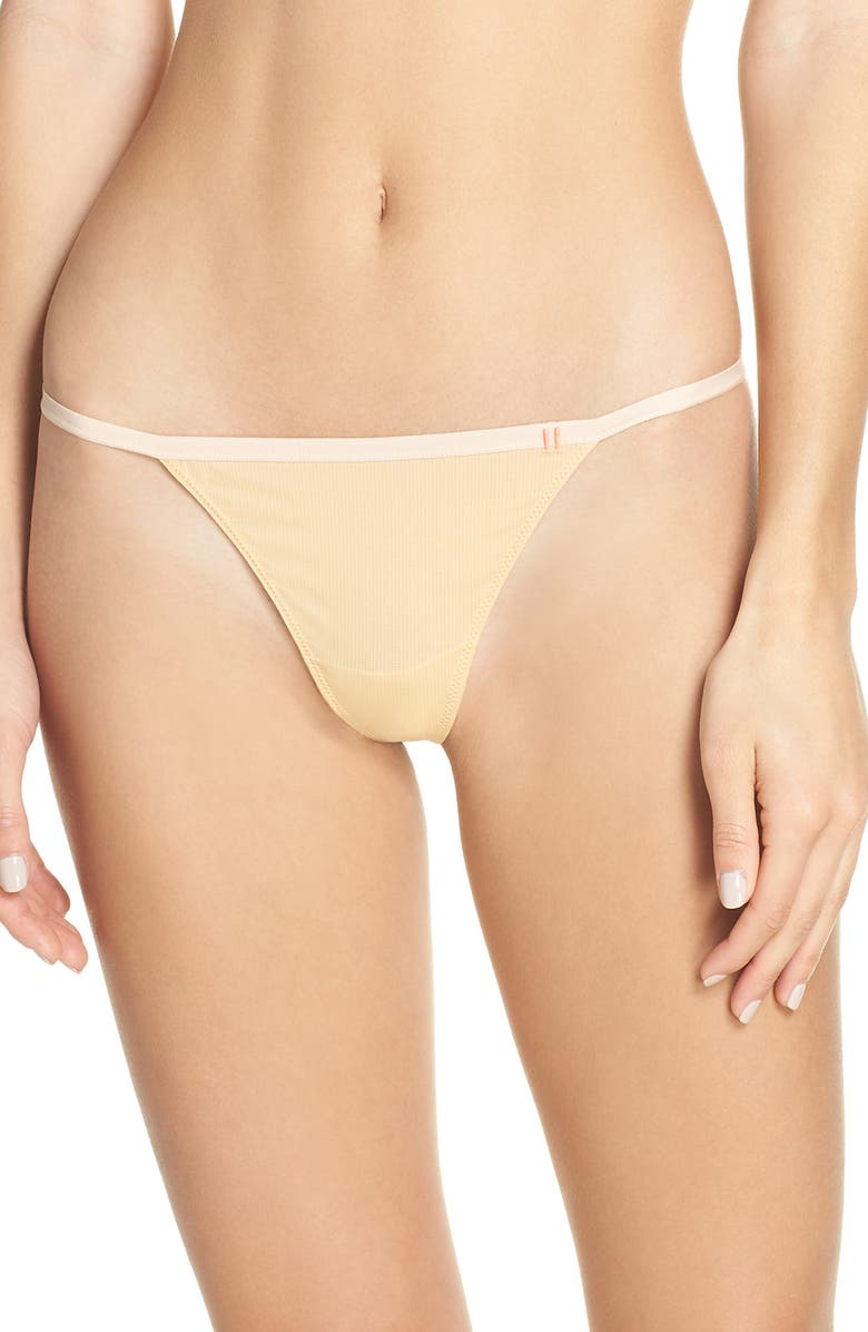 STANCE String Thong, Main, color, NATURAL