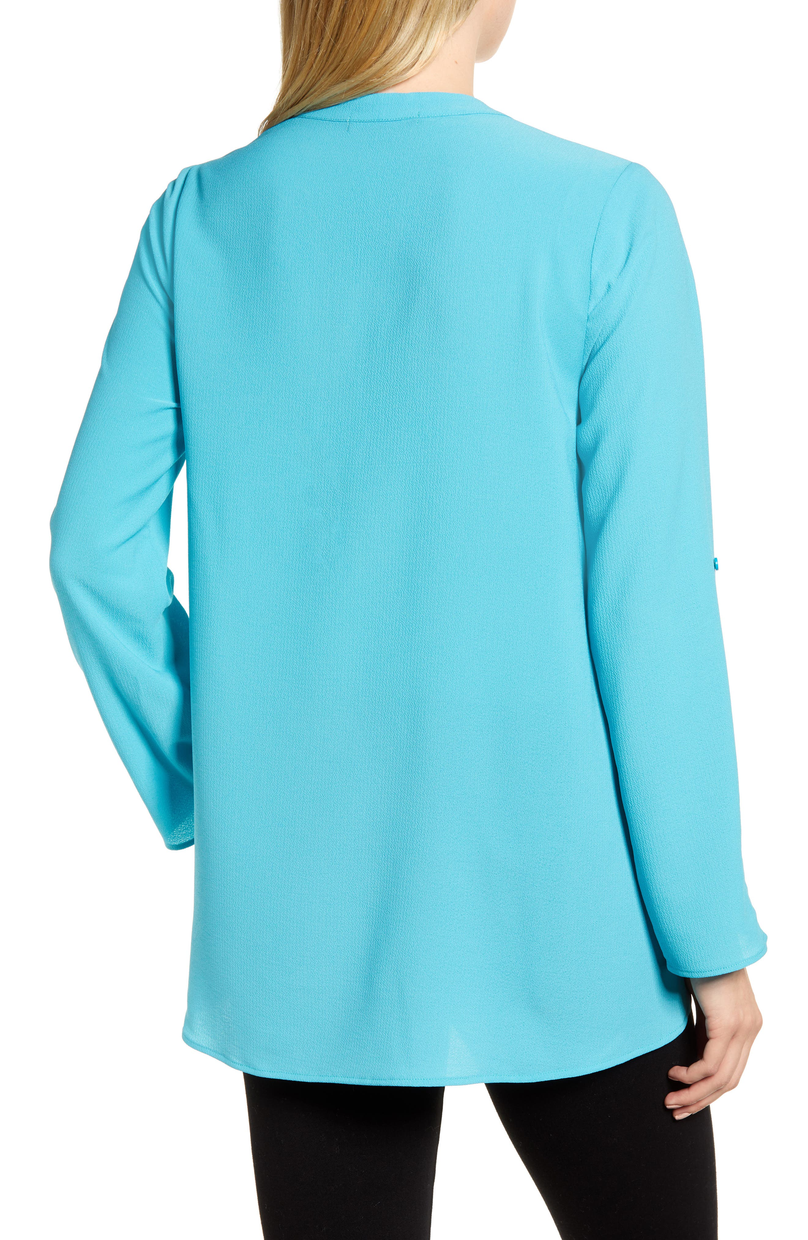 ,                             x International Women's Day Erin Cross Front Tunic Blouse,                             Alternate thumbnail 41, color,                             443