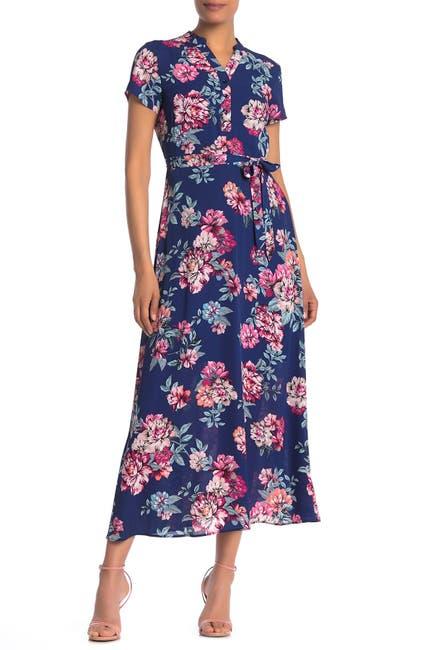 Image of NANETTE nanette lepore Tie Waist Maxi Dress