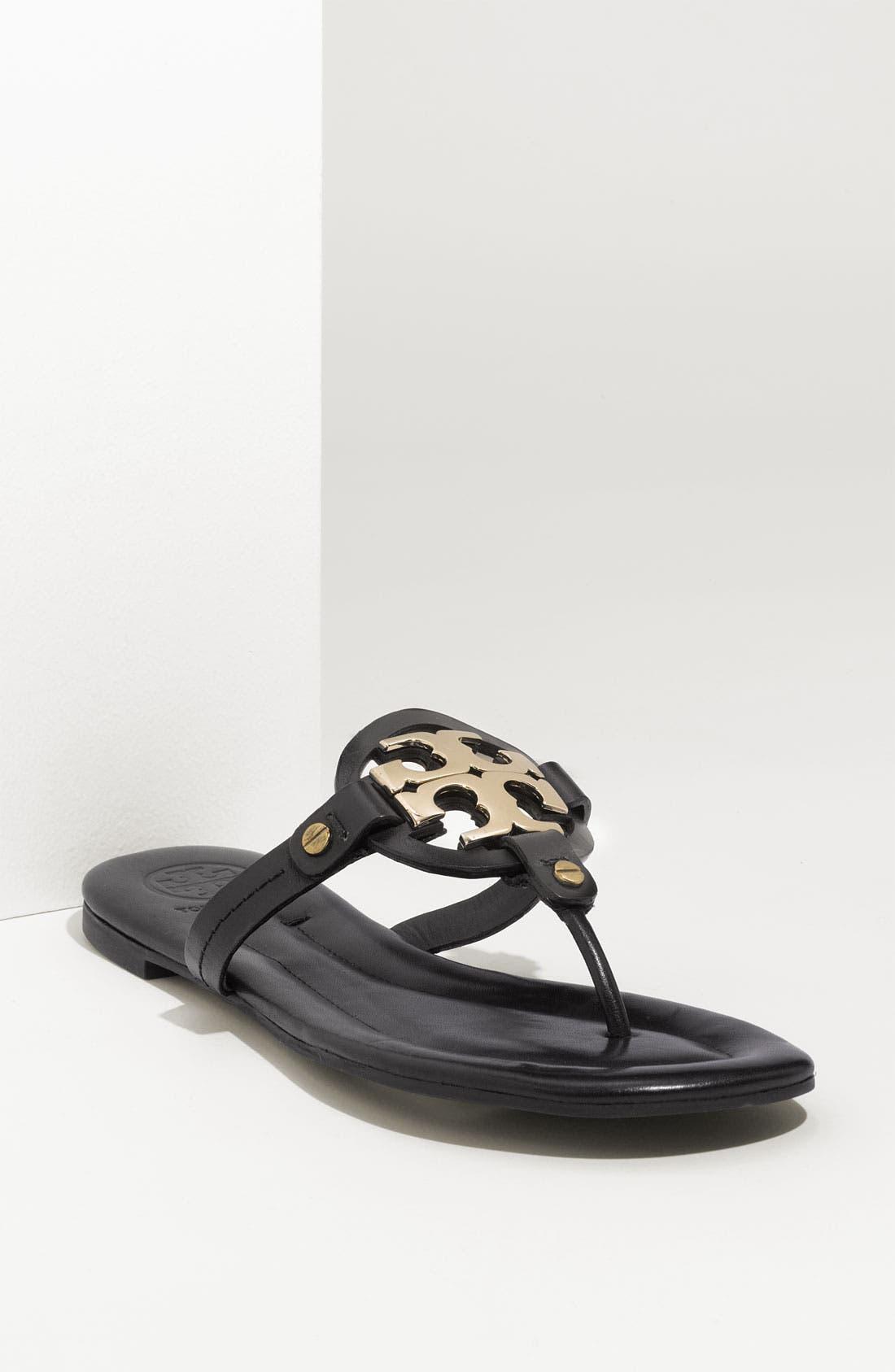 Tory Burch 'Miller 2' Logo Sandal