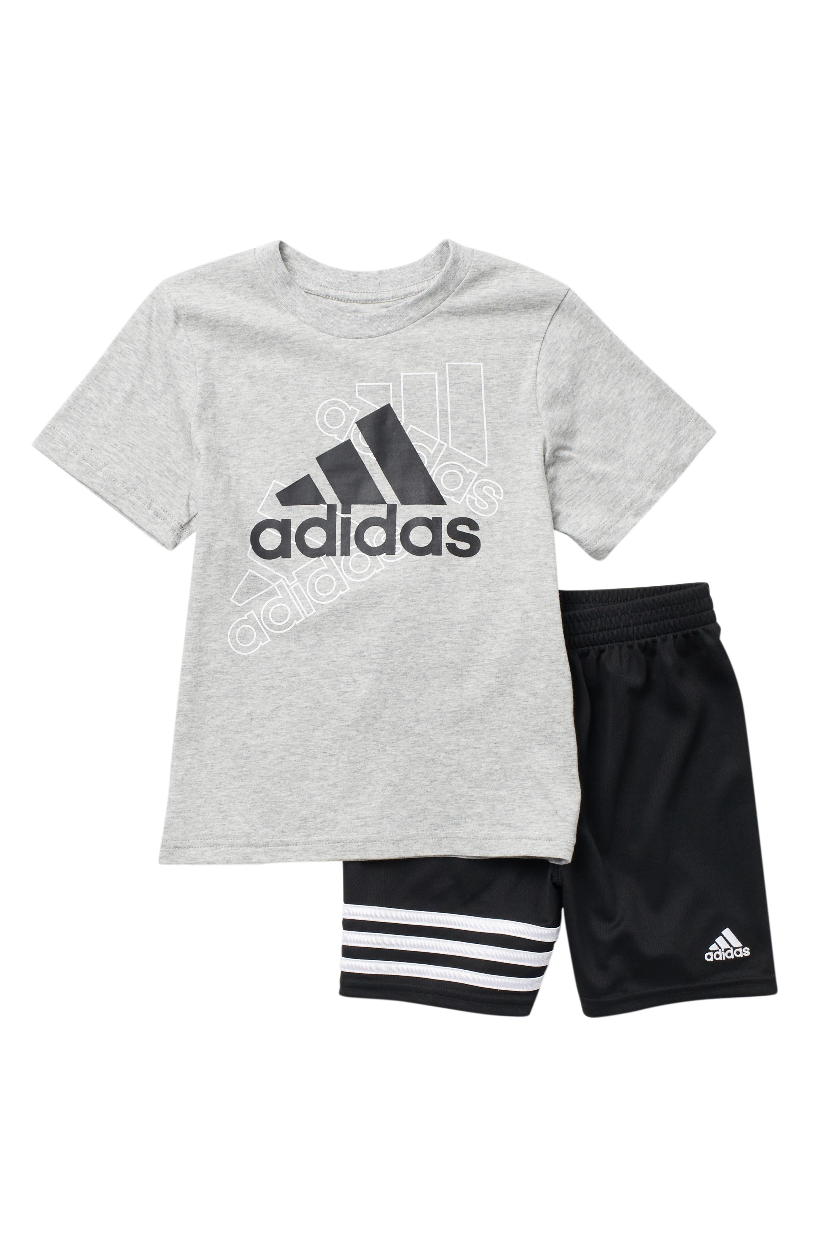 Image of adidas Cotton T-Shirt & Short Set
