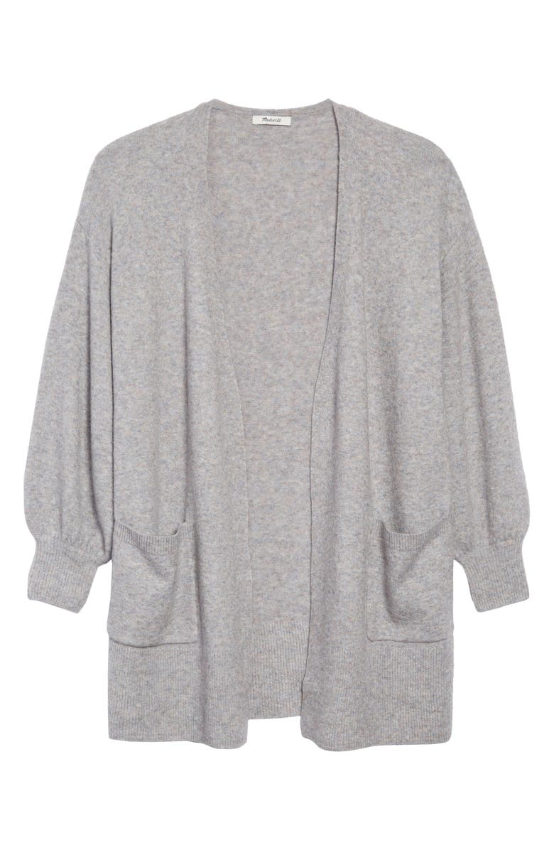 MADEWELL Edgewater Coziest Yarn Cardigan, Main, color, 400