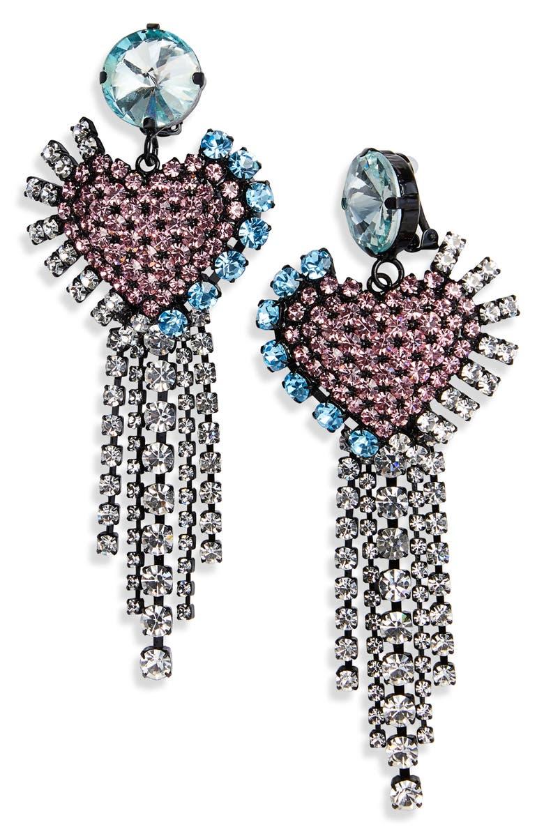 ASHLEY WILLIAMS Heartfall Earrings, Main, color, 650