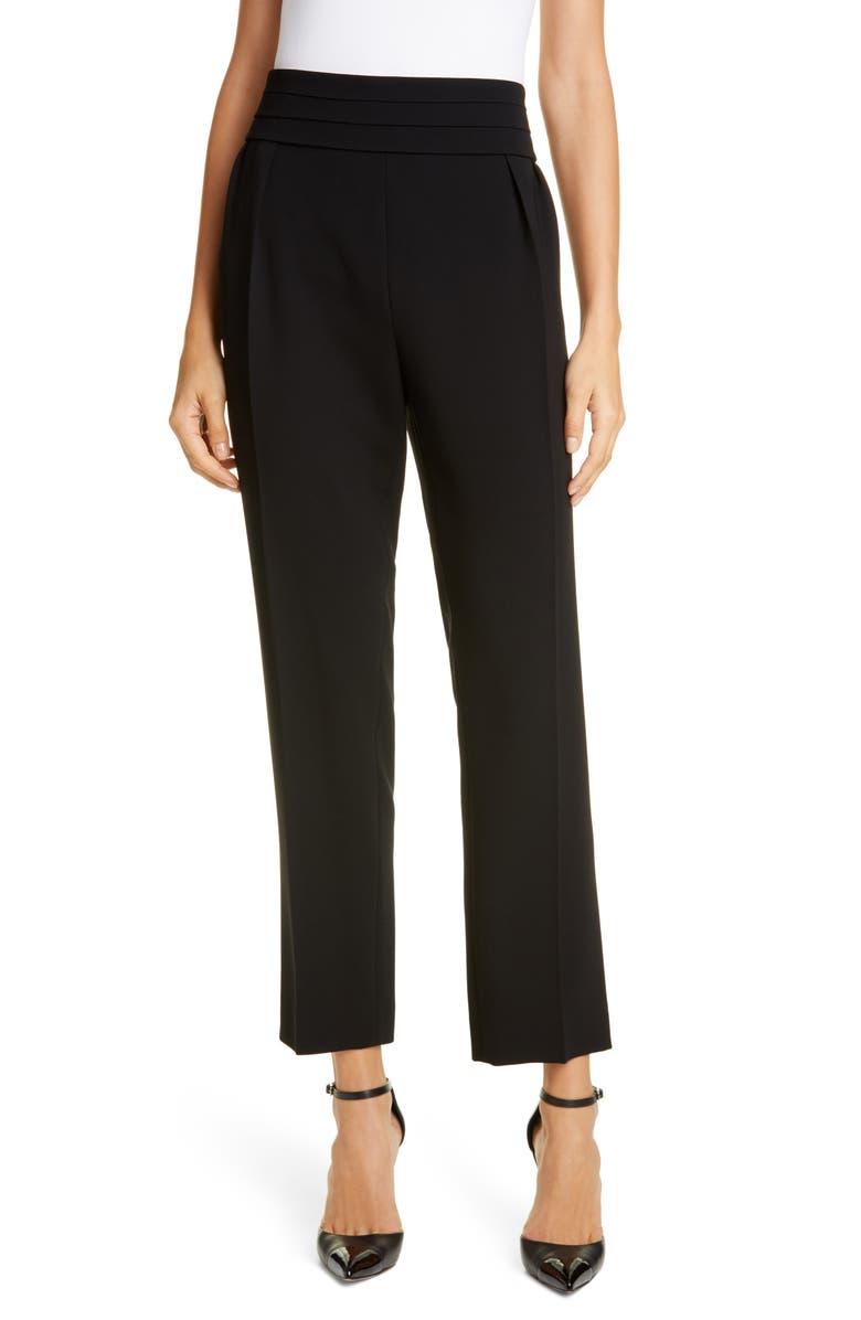 MAX MARA Anagni Pants, Main, color, BLACK