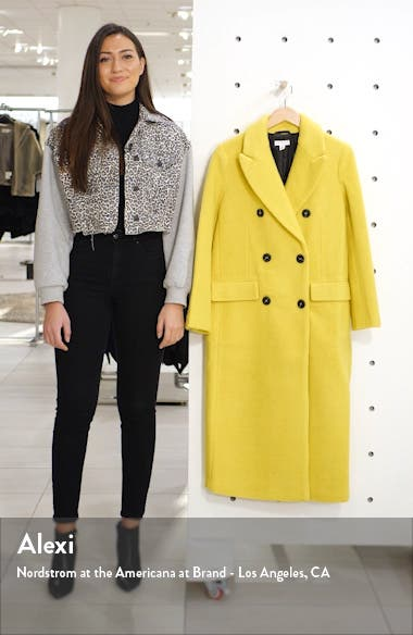 Toni Double Breasted Longline Coat, sales video thumbnail