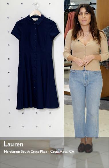 Fit & Flare Shirtdress, sales video thumbnail