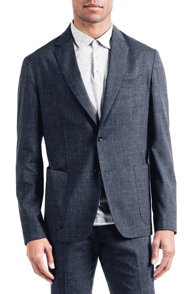 Good Man Brand Downtown Slim Stretch Wool Linen Sport Coat
