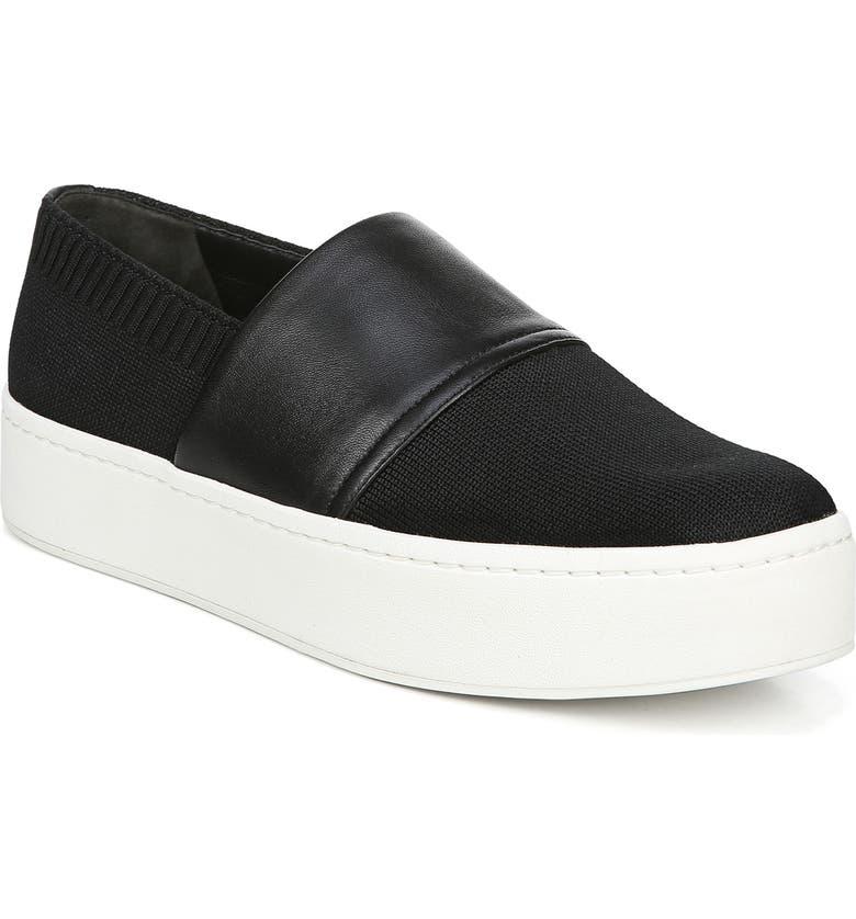 Ward Knit Slip On Sneaker by Vince