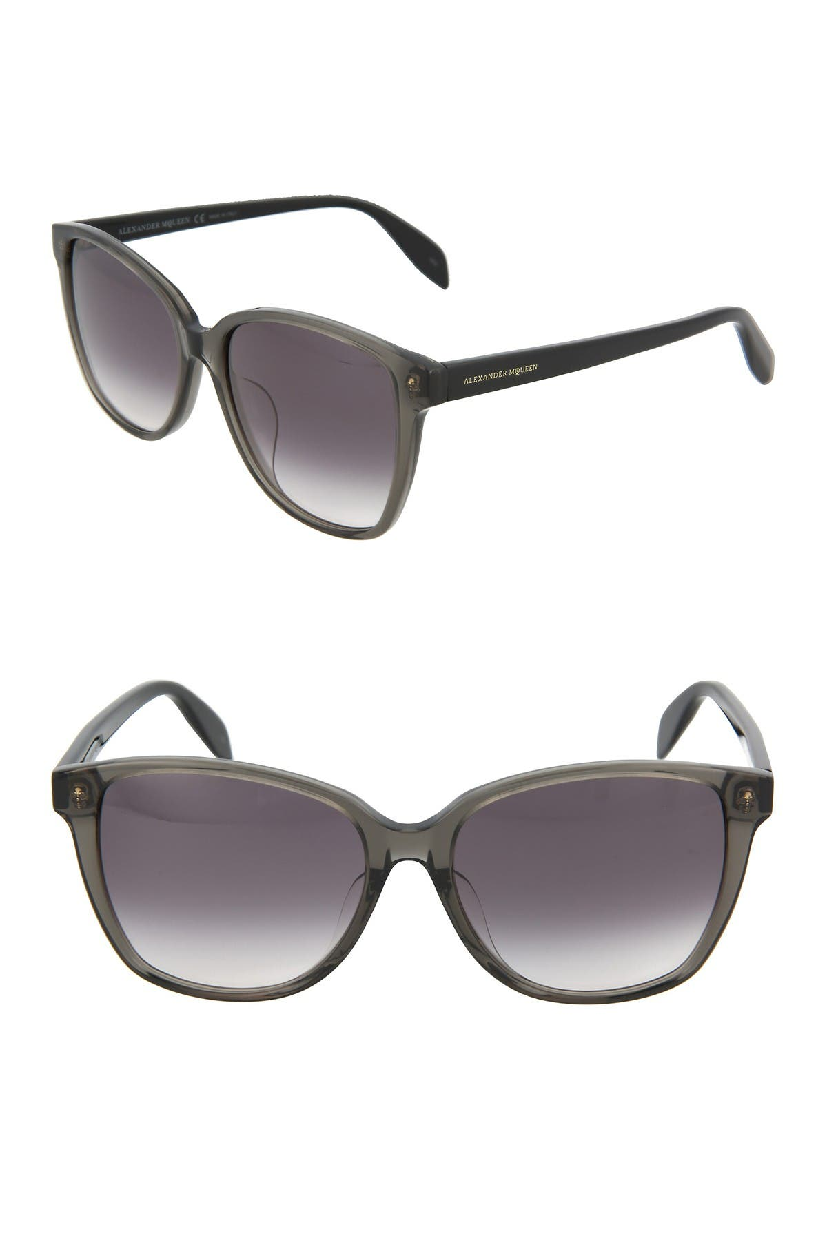 Image of Alexander McQueen 57mm Oversized Sunglasses