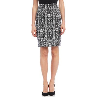 Karen Kane City Skirt, Black