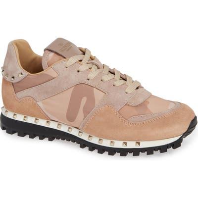 Valentino Garavani Rockstud Sneaker - Beige