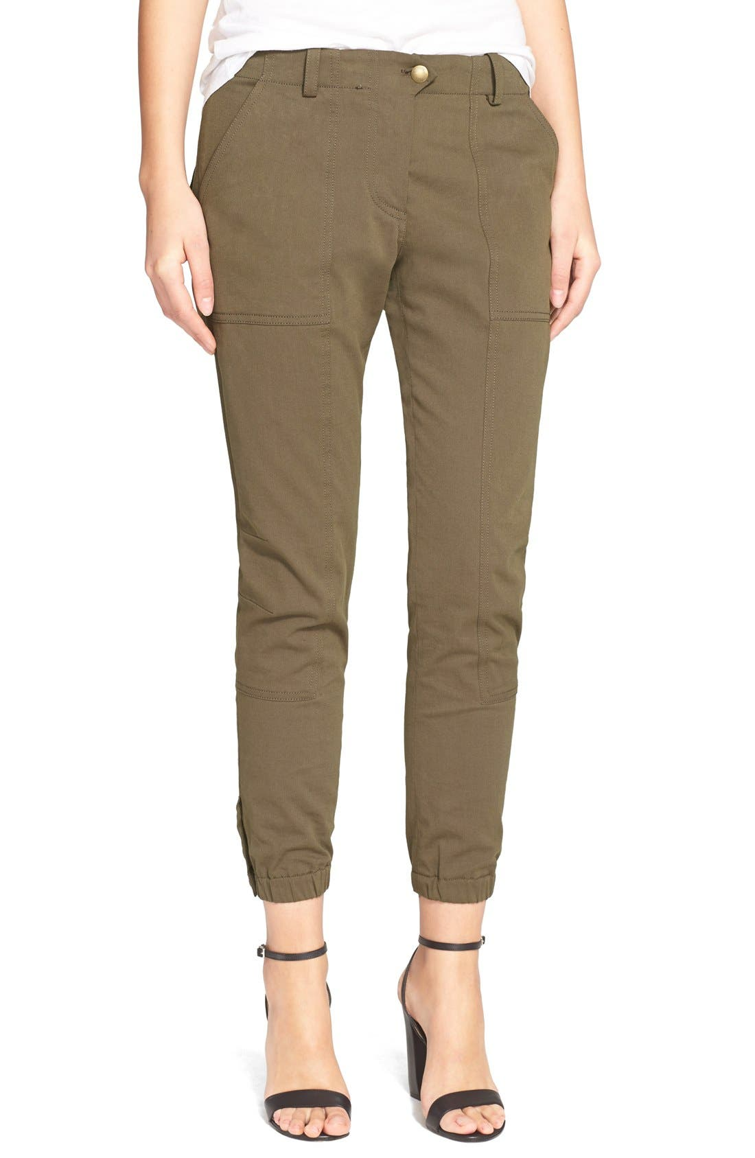 ,                             'Field' Cargo Twill Ankle Pants,                             Main thumbnail 6, color,                             300