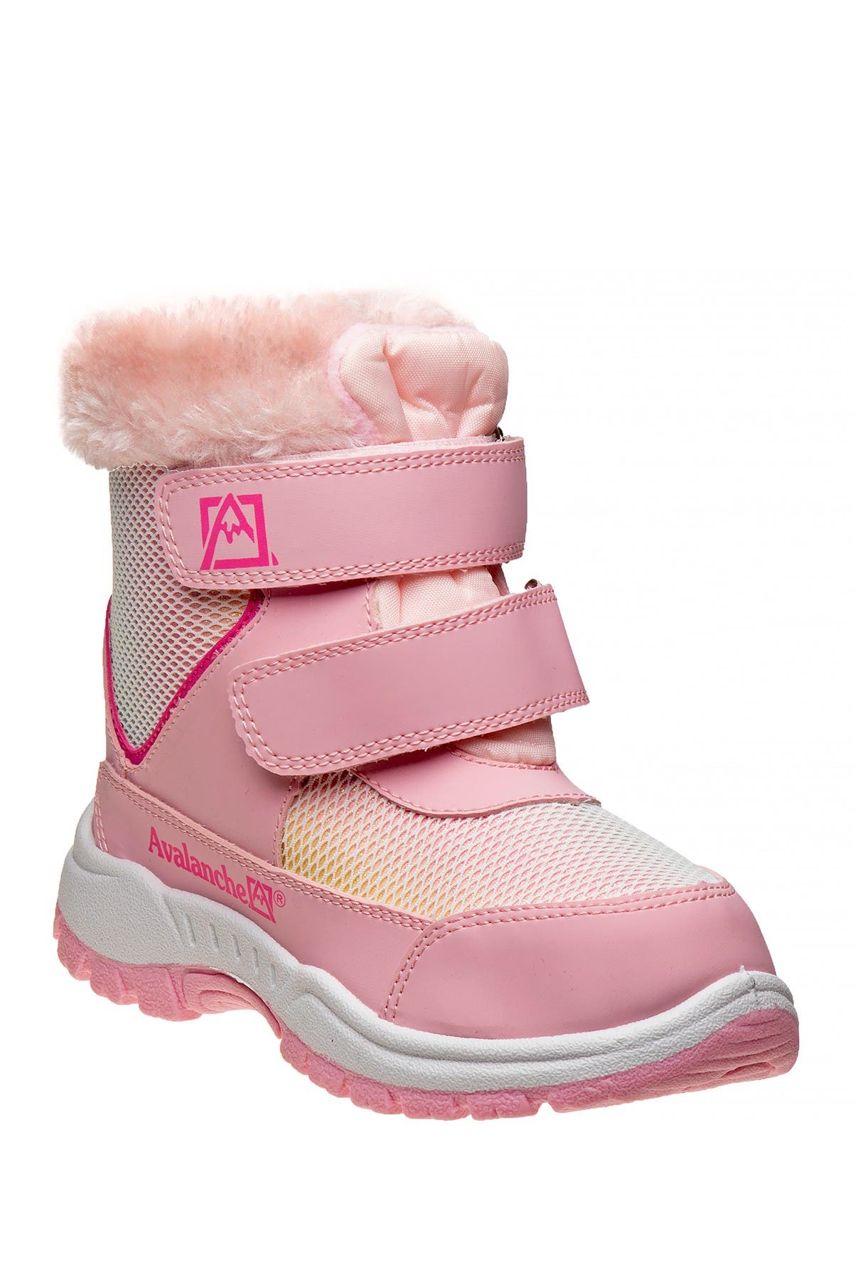 Image of Josmo Faux Fur Trim Avalanche Snow Boot