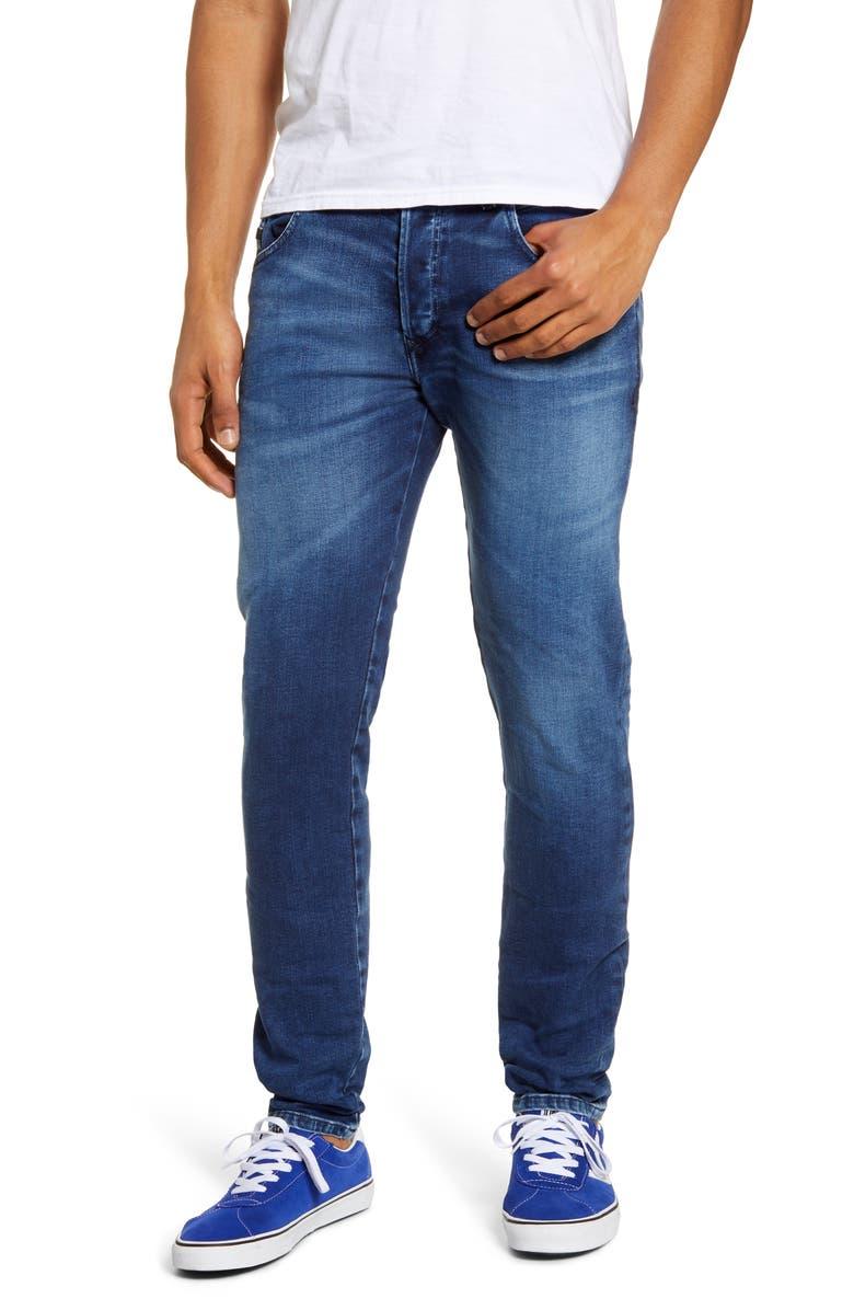DIESEL<SUP>®</SUP> D-Bazer Slim Fit Jeans, Main, color, 400
