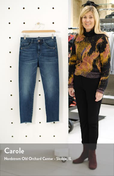 High Waist Seamless Ankle Skimmer Jeans, sales video thumbnail