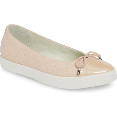 Ecco Gillian Ballerina Flat, Pink