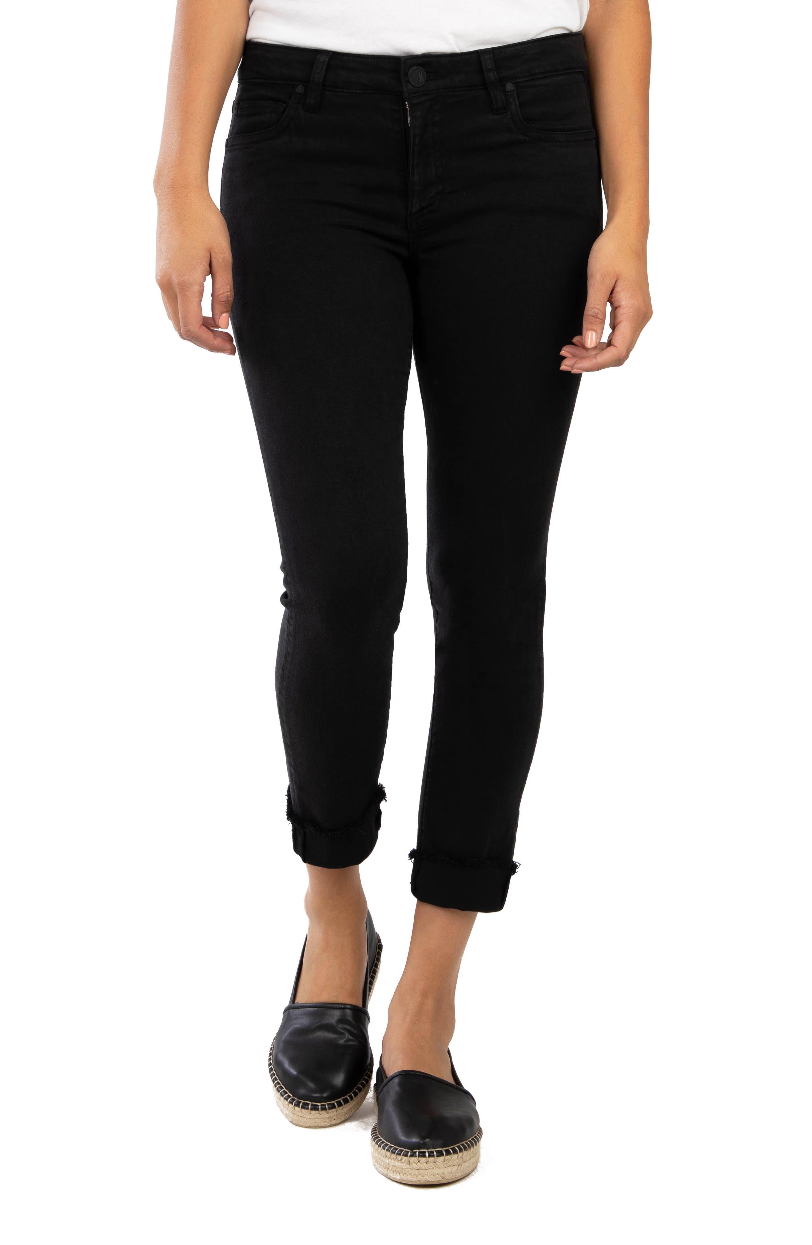 Amy Fray Hem Crop Skinny Jeans
