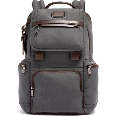 Tumi Alpha 3 Flap Backpack - Grey