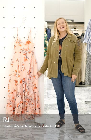 The Rosalia High/Low Wrap Dress, sales video thumbnail