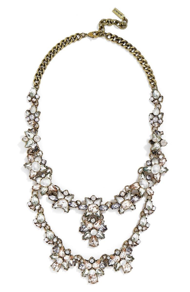 BAUBLEBAR 'Emma' Bib Necklace, Main, color, 450