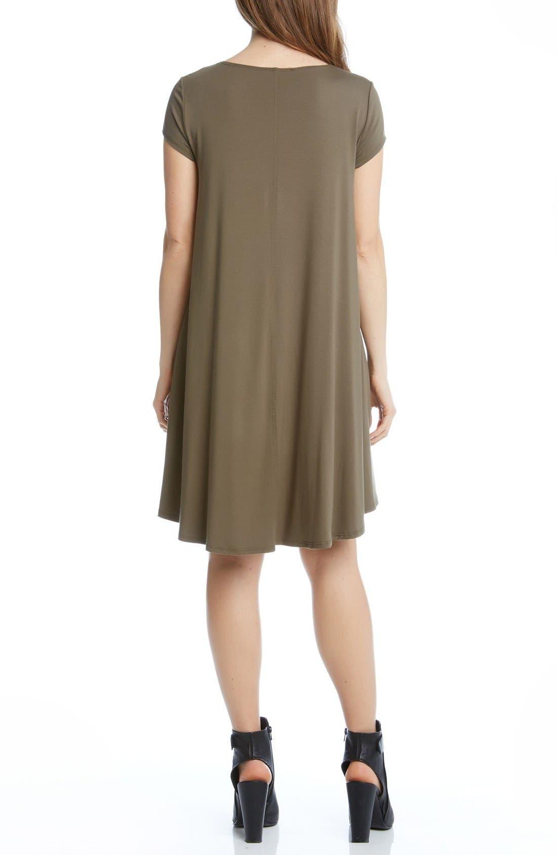 ,                             'Maggie' Cap Sleeve Trapeze Dress,                             Alternate thumbnail 16, color,                             313