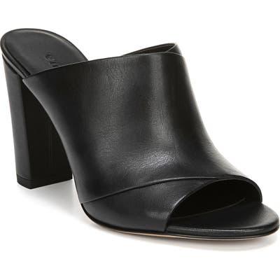 Vince Heath Cross Strap Sandal, Black